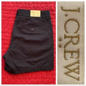 J. Crew Navy Chino City Fit 10